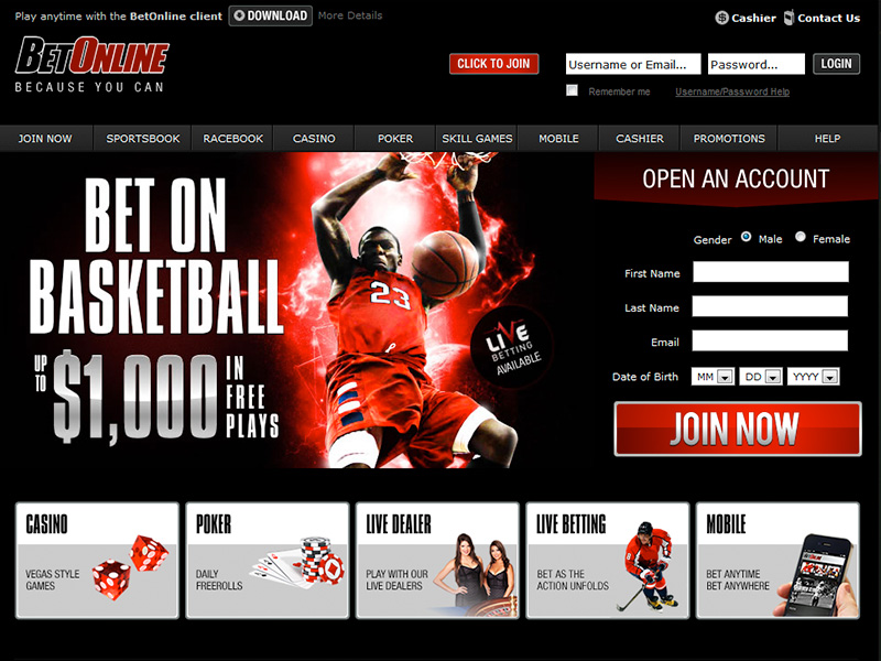 BetOnline Free Bet | $900 in Free Bets | Sign Up Bonus Details