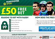 Paddy Power Signup Bonus