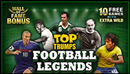 Top Trumps Legends Slots