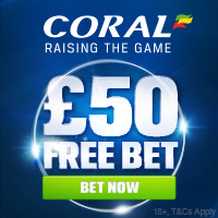 Coral.co.uk - Free Bet