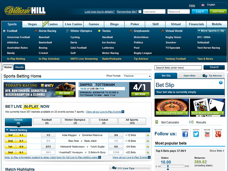William Hill £30 Free Bet